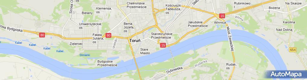 Zdjęcie satelitarne 'HOTELIK W CENTRUM'