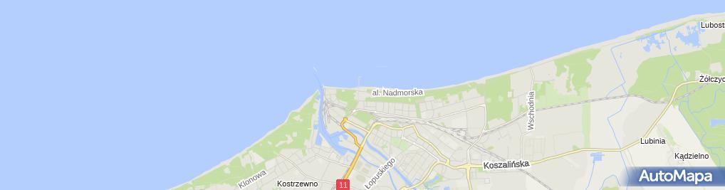 Zdjęcie satelitarne Bałtyk