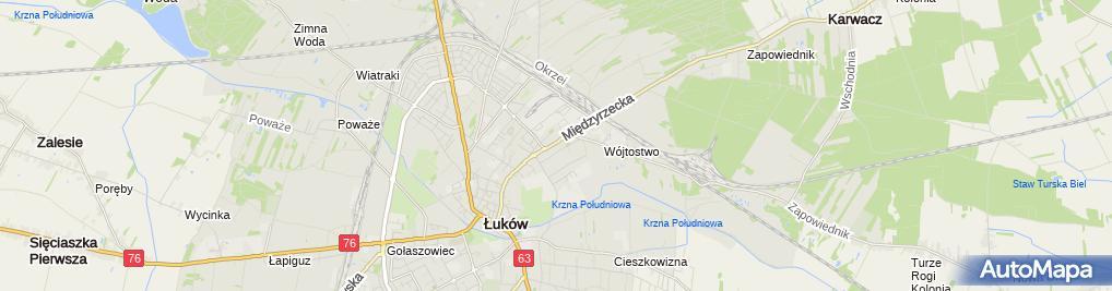 Zdjęcie satelitarne GROCHOWSKI