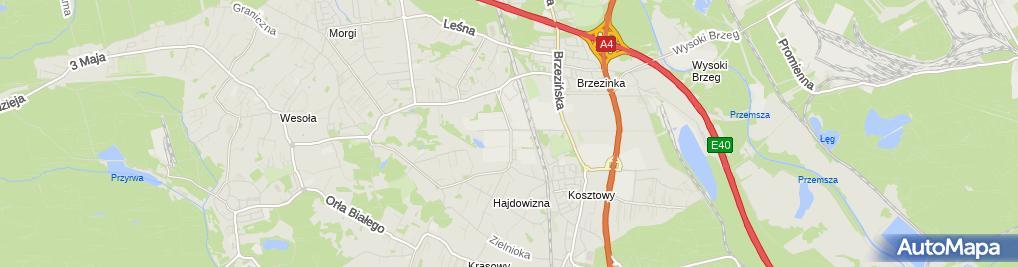 Zdjęcie satelitarne Hotel Modus Laziska , Mikołów , Orzesze ***