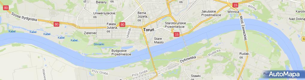 Zdjęcie satelitarne HOTEL NICOLAUS
