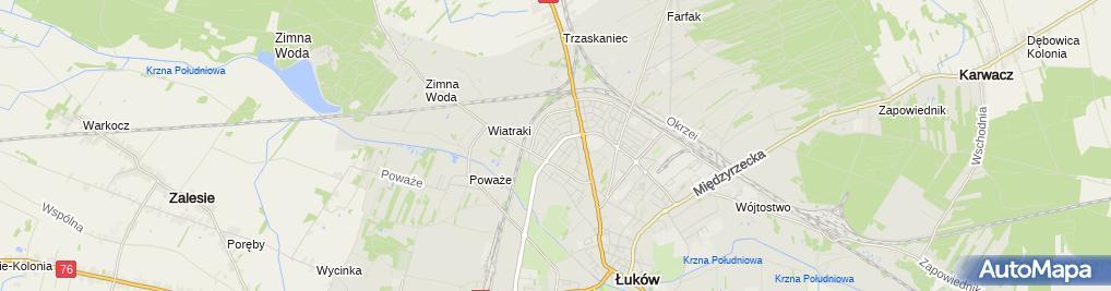 Zdjęcie satelitarne Miś