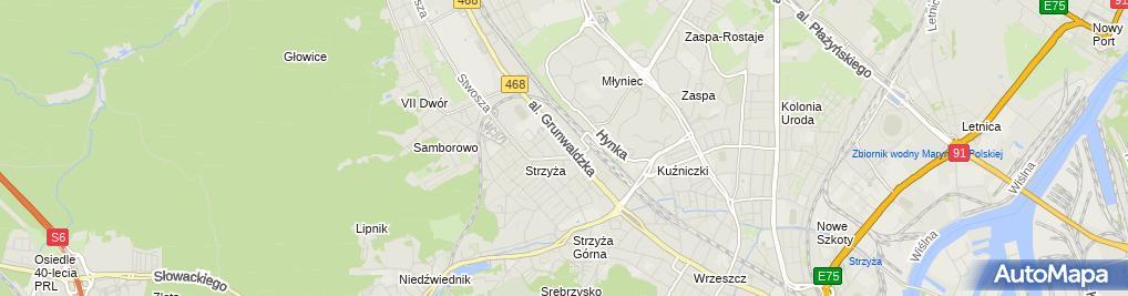 Zdjęcie satelitarne 2 SUN Sp. z o.o. Sp.k.