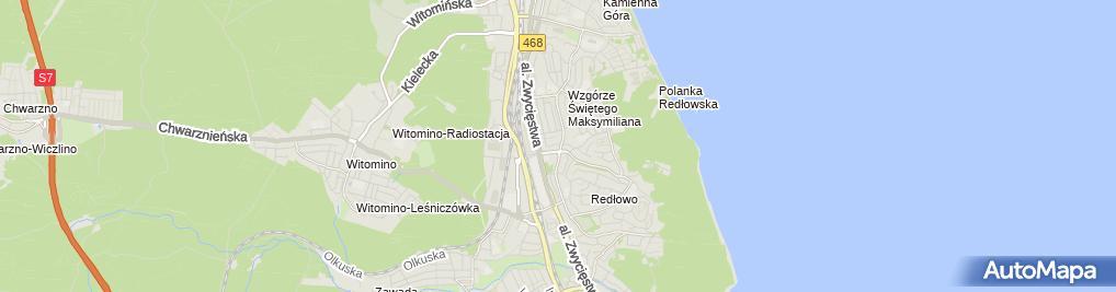Zdjęcie satelitarne Abramowicz Instalacje Hydraulik Gdynia Gdańsk Sopot