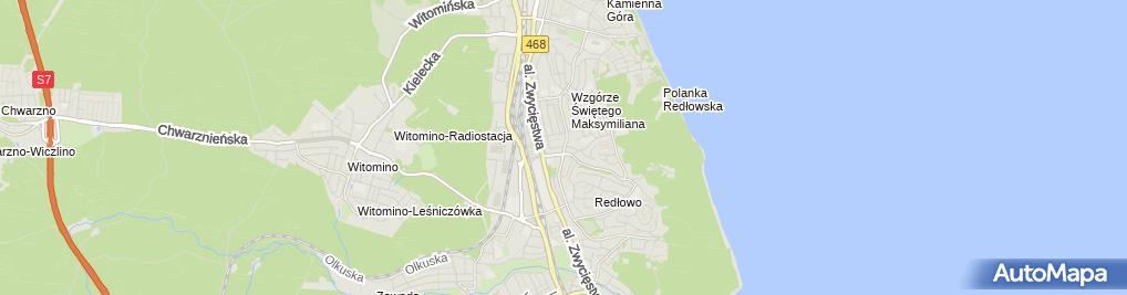 Zdjęcie satelitarne Pogotowie gazowe 24h - Usługi gazownicze - Gazownik