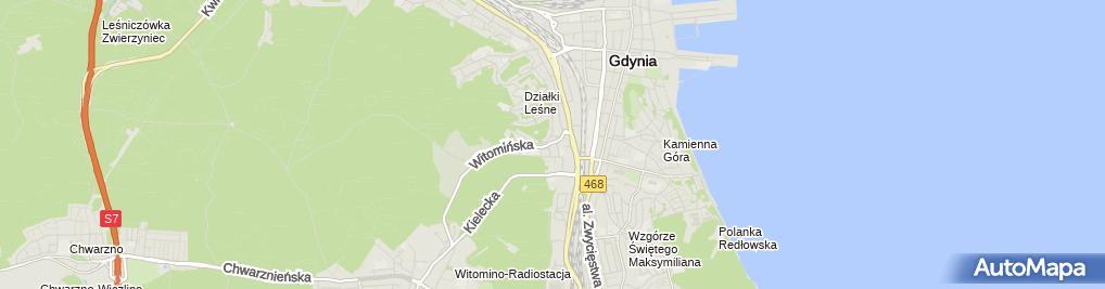 Zdjęcie satelitarne Usługi Hydrauliczne