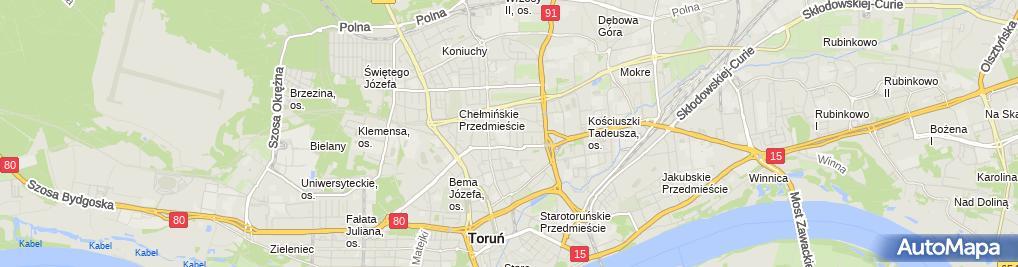 Zdjęcie satelitarne Agencja Interaktywna Ideare Krzysztof Sieradzki