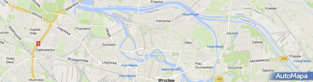 Zdjęcie satelitarne Crazy Dog Solutions Michał Światowy