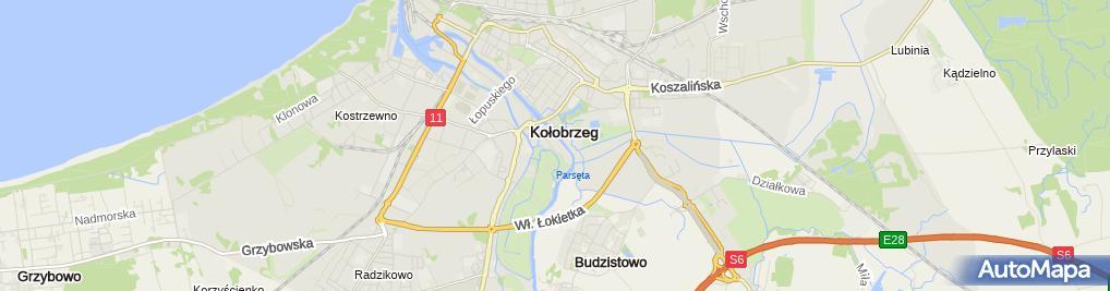 Zdjęcie satelitarne Internetowa Agencja Reklamy i Informacji Turystycznej Monitor