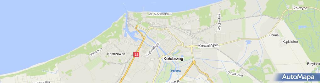 Zdjęcie satelitarne Kawiarenka Komputerowa