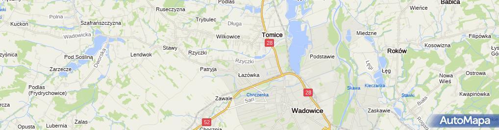 Zdjęcie satelitarne Komprog S C Handzlik M Maślanka Z