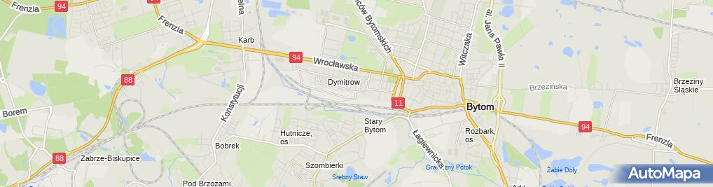 Zdjęcie satelitarne New Dynamic Software Bartosz Strutyński