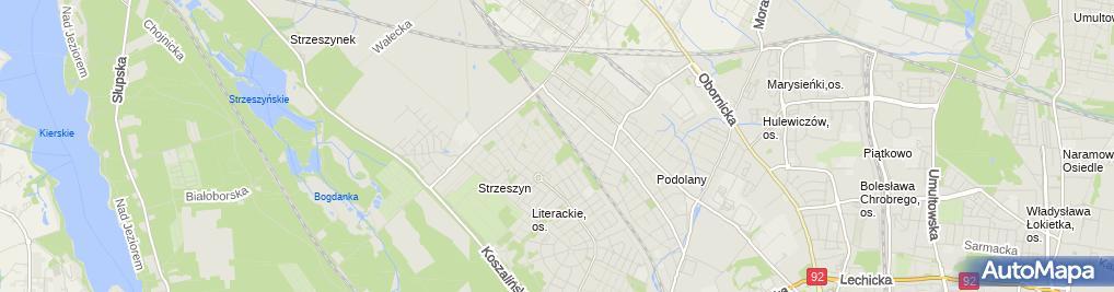 Zdjęcie satelitarne OWL Piotr Kliński