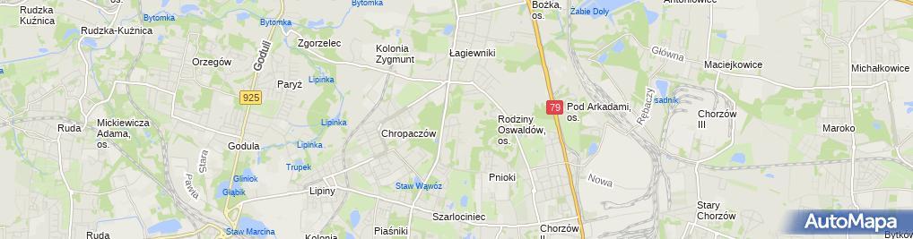 Zdjęcie satelitarne Soft-Tech Sławomir Zabojszcz