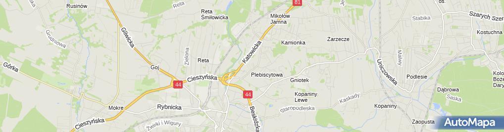 Zdjęcie satelitarne Softgraf Systemy Informatyczne i Grafika Komputerowa Marek Nowak Nazwa Skrócona: Softgraf Marek Nowak