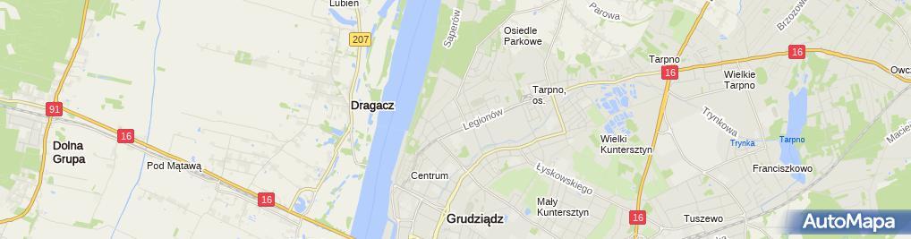 Zdjęcie satelitarne WEBIZNES.PL Łukasz Dryl