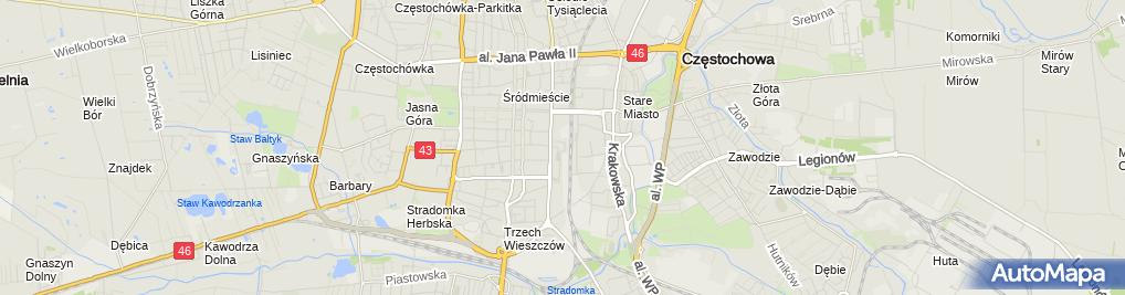 Zdjęcie satelitarne ING Bank Śląski - Bankomat