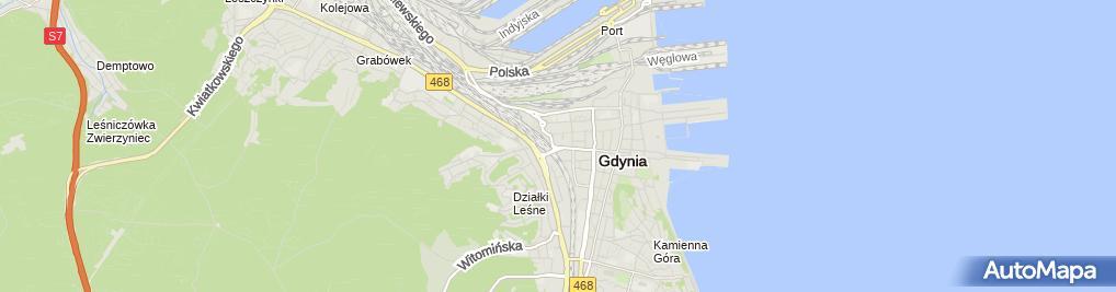 Zdjęcie satelitarne ING Bank Śląski - Wpłatomat