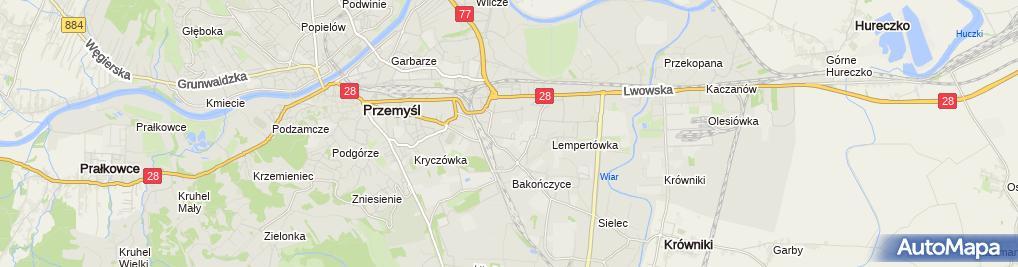 Zdjęcie satelitarne SOCHA FHUP Technika Grzewcza i Sanitarna