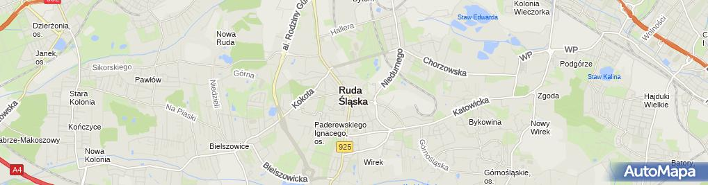 Zdjęcie satelitarne Inter Cars - Sklep, Hurtownia