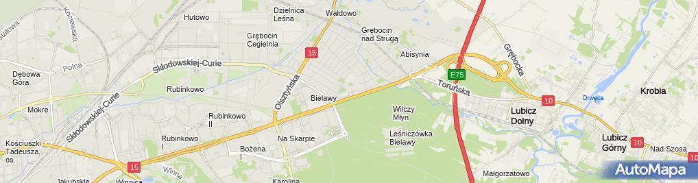 Zdjęcie satelitarne Inter Data Service - Serwis samochodowy