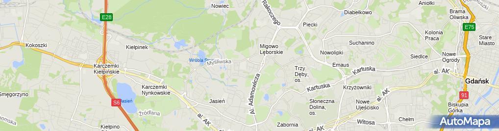 Zdjęcie satelitarne EkoAhimsa.pl - sklep ekologiczny, zero waste