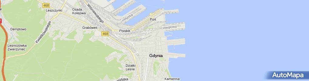 Zdjęcie satelitarne Adwokat Marcin Miszkiewicz Kancelaria Adwokacka