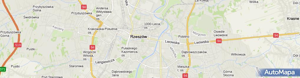 Zdjęcie satelitarne Kancelaria Adwokacka adw. Agnieszka Baran