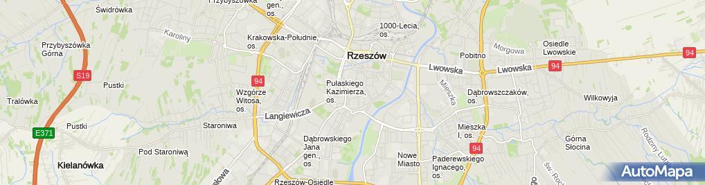 Zdjęcie satelitarne Kancelaria Adwokacka Adw. Grzegorz Kopek