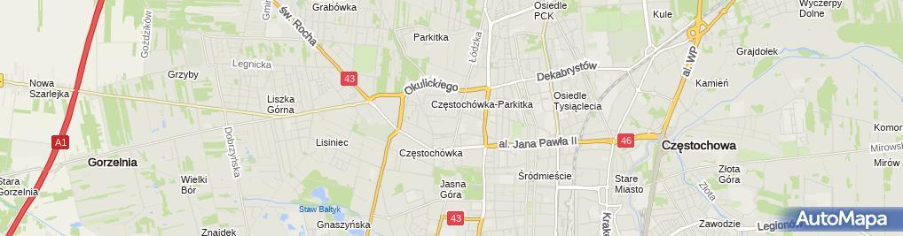 Zdjęcie satelitarne Kancelaria Adwokacka Adwokat Aneta Matyja