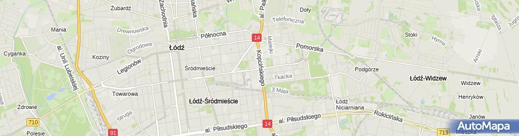 Zdjęcie satelitarne Kancelaria Adwokacka Adwokat Anna Świątkowska