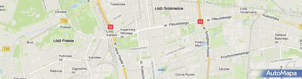 Zdjęcie satelitarne Kancelaria Adwokacka Adwokat Jacek Romanow