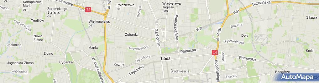 Zdjęcie satelitarne Kancelaria Adwokacka Adwokat Jakub Ławicki
