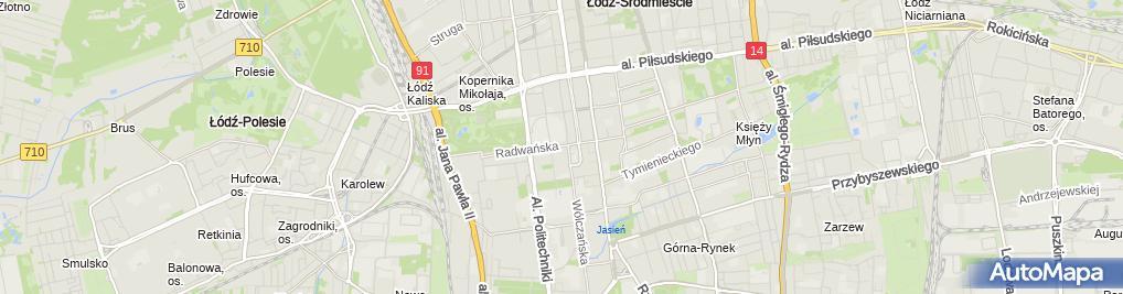 Zdjęcie satelitarne Kancelaria Adwokacka Adwokat Justyna Kucejko