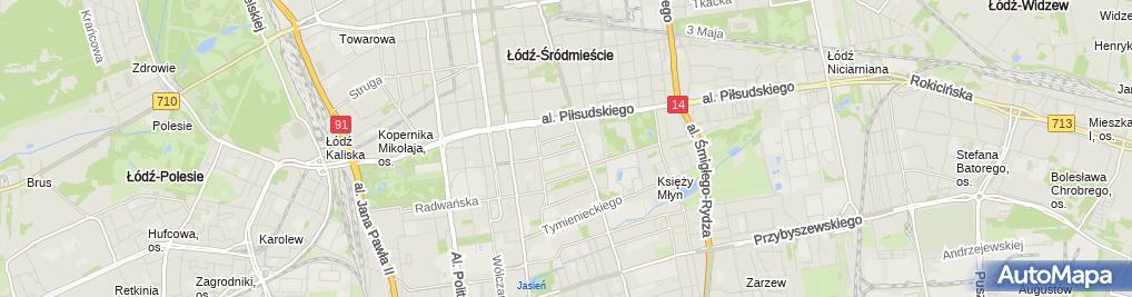 Zdjęcie satelitarne Kancelaria Adwokacka Adwokat Maciej Nastarowicz