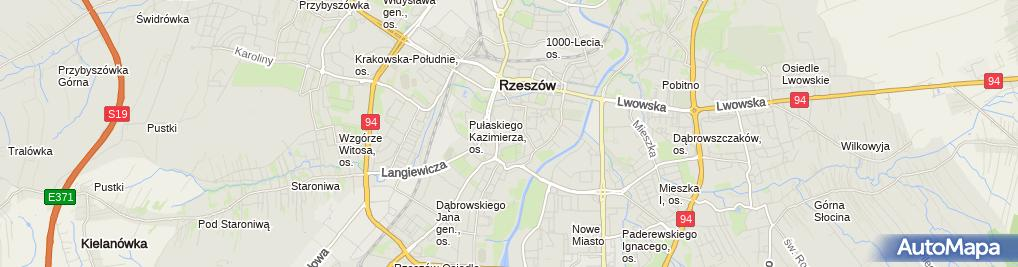Zdjęcie satelitarne Kancelaria Adwokacka Adwokat Małgorzata Nagłowska