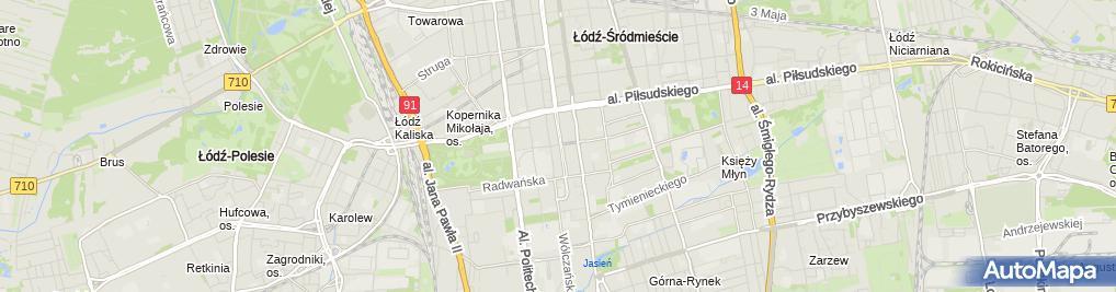 Zdjęcie satelitarne Kancelaria Adwokacka Adwokat Piotr Świderek