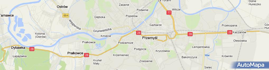 Zdjęcie satelitarne Kancelaria Adwokacka Adwokat Sebastian Możdrzeń