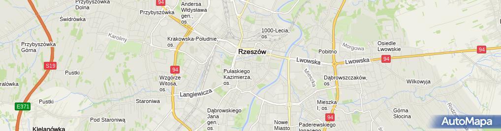 Zdjęcie satelitarne Kancelaria Adwokacka Adwokat Tobiasz Lubas