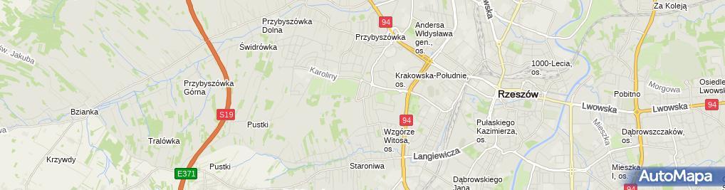 Zdjęcie satelitarne Kancelaria Adwokacka Adwokat Tomasz Biały