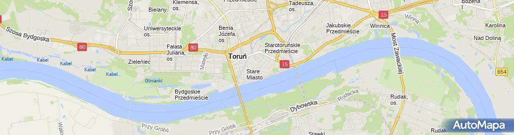 Zdjęcie satelitarne Kancelaria Adwokacka Aleksandra Krawczyk-Głowacka