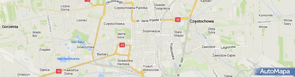 Zdjęcie satelitarne KANCELARIA ADWOKACKA Bartosz Czekała