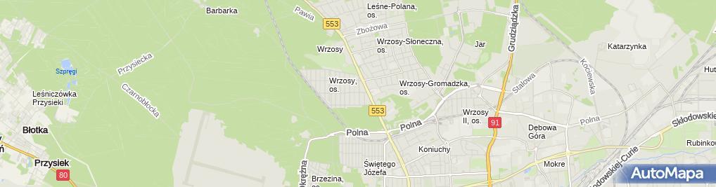 Zdjęcie satelitarne Kancelaria Adwokacka Dr Alicja Osowska-Kowalska Adwokat