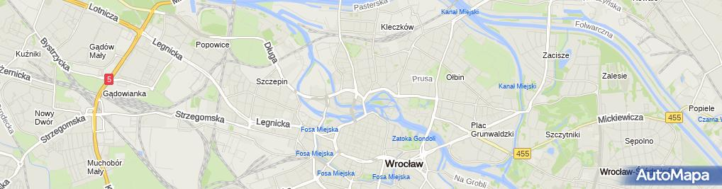 Zdjęcie satelitarne Kancelaria Adwokacka Paulina Poszytek