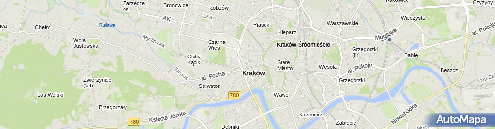 Zdjęcie satelitarne Kancelaria Prawna Ślaski & Wspólnicy s.c.