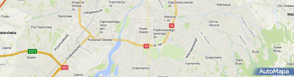 Zdjęcie satelitarne Kancelaria Radców Prawnych i Adwokatów Roczniak Tokarczyk i P.
