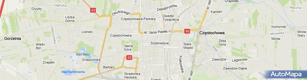 Zdjęcie satelitarne Kancelaria Radców Prawnych Patrycja Czerw-Ułamek & Zenon Ułamek