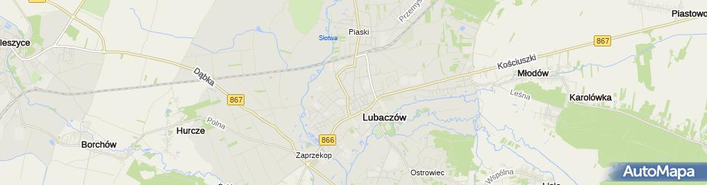 Zdjęcie satelitarne Kancelaria Radcy Prawnego r. pr. Marian Szałański