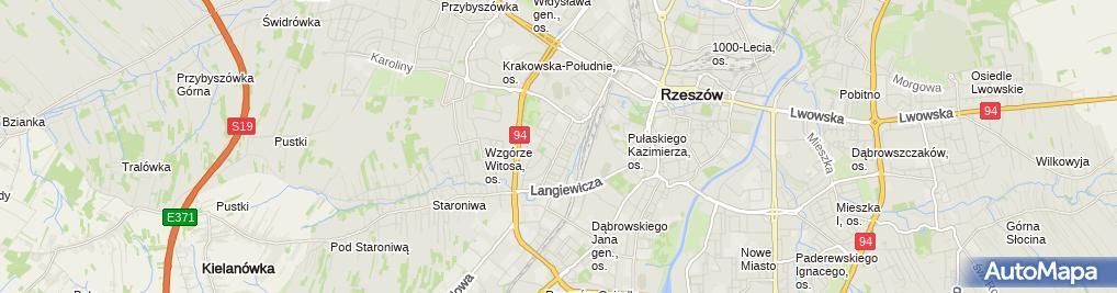Zdjęcie satelitarne Prawnik-Adwokat Rzeszów dr Joanna Paśkiewicz