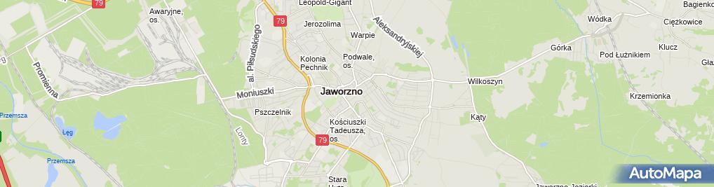 Zdjęcie satelitarne Przemysław Bujniak Kancelaria Adwokacka